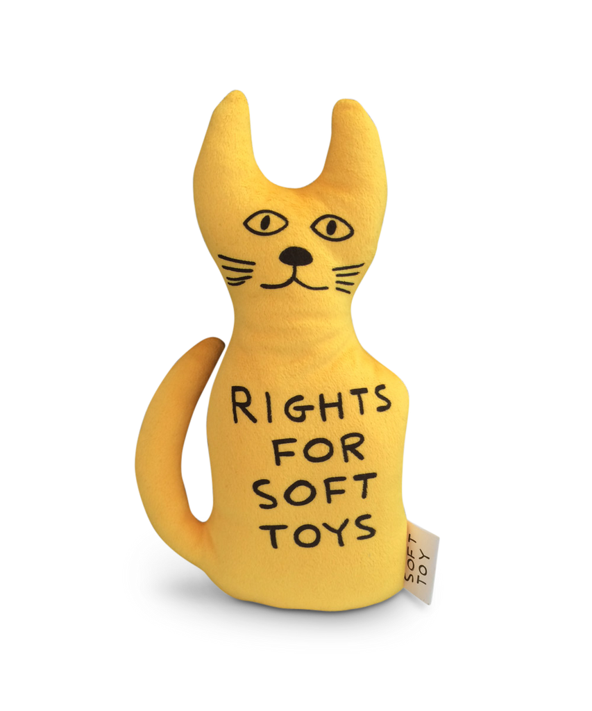 Cat Soft Toy X David Shrigley