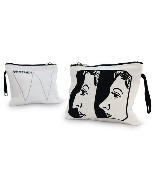 ANDY WARHOL Before and After Makeup Bag