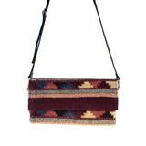 MZ Ancient Stones Crossbody Clutch