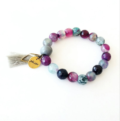 Haitian Beau Tassel Bracelets - choose color