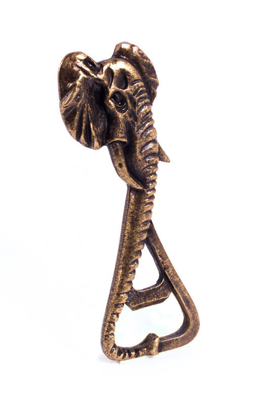 Elephant Brass Bottle Opener