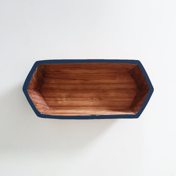 Hex Tray - Navy (shown), Aqua or Black