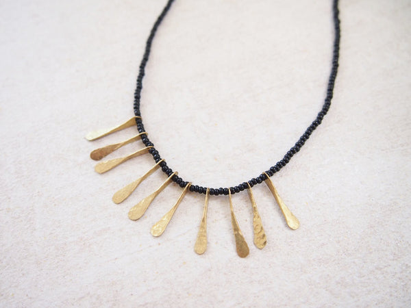 Modern Masai Necklace - black