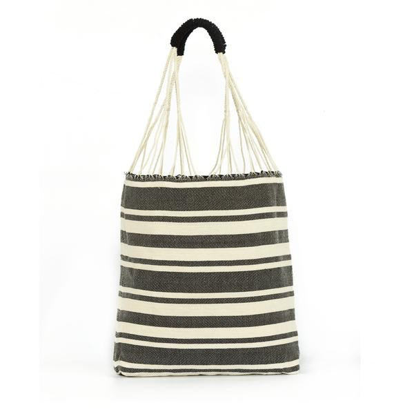 Apolonia Tote - Twill Stripe