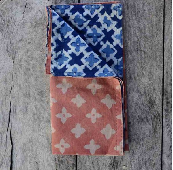 Chorus Reversible Napkins in Gift Pouch