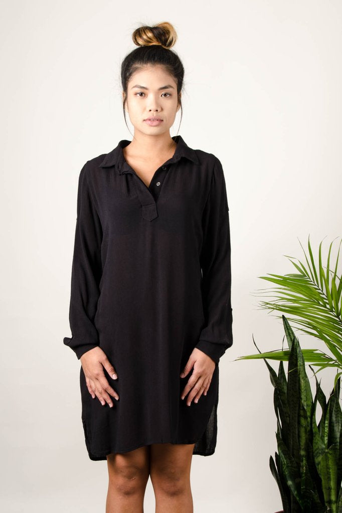 Tonle Rachana Tunic - Black