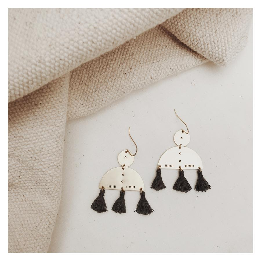 Zeru Tassel Earrings