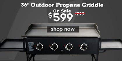 Outdoor Propane Griddle on Sale