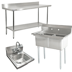 Sinks & Worktables