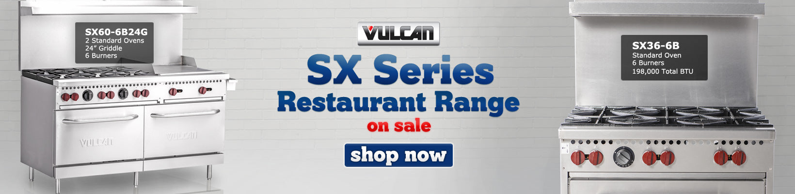 sx series commercial range