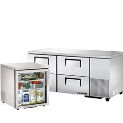 Undercounter Refrigerations and Freezers