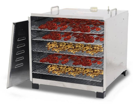Nella Stainless Steel Food Dehydrator With 5-Racks - 10924