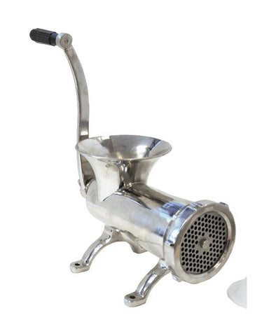 NELLA 11016 32 STAINLESS STEEL MANUAL MEAT MINCER