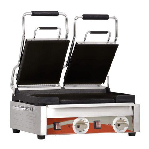 "Nella 10"" x 18"" Smooth Sandwich Grill - 21466"