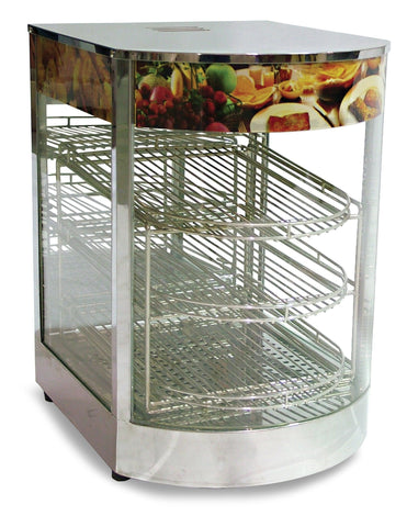 NELLA 21829 14-INCH DISPLAY WARMER WITH CURVED GLASS