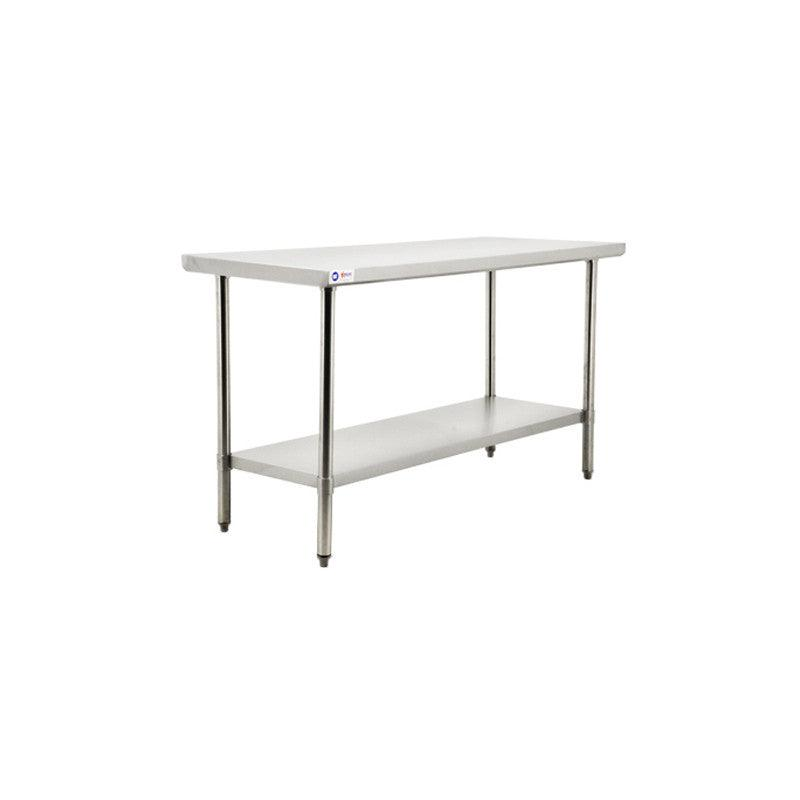 """Nella 30"""" x 36"""" Stainless Steel Table - 22072"""