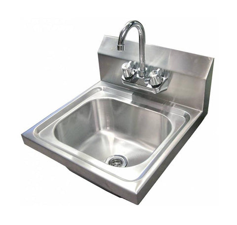 NELLA 22122 WALL MOUNTED HAND SINK WITH FAUCET