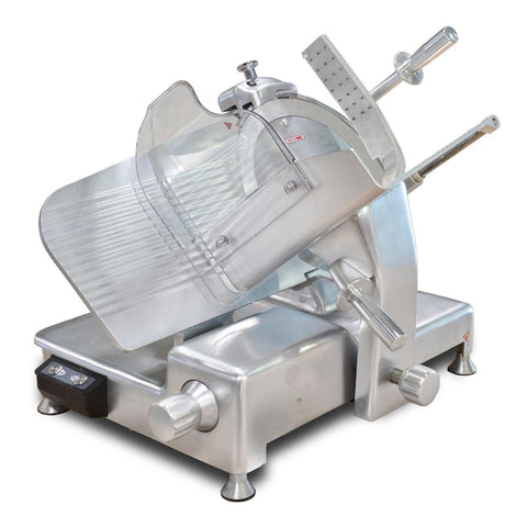 "Nella 14"" Blade Belt-Driven Meat Slicer - 0.5 HP - 23544"