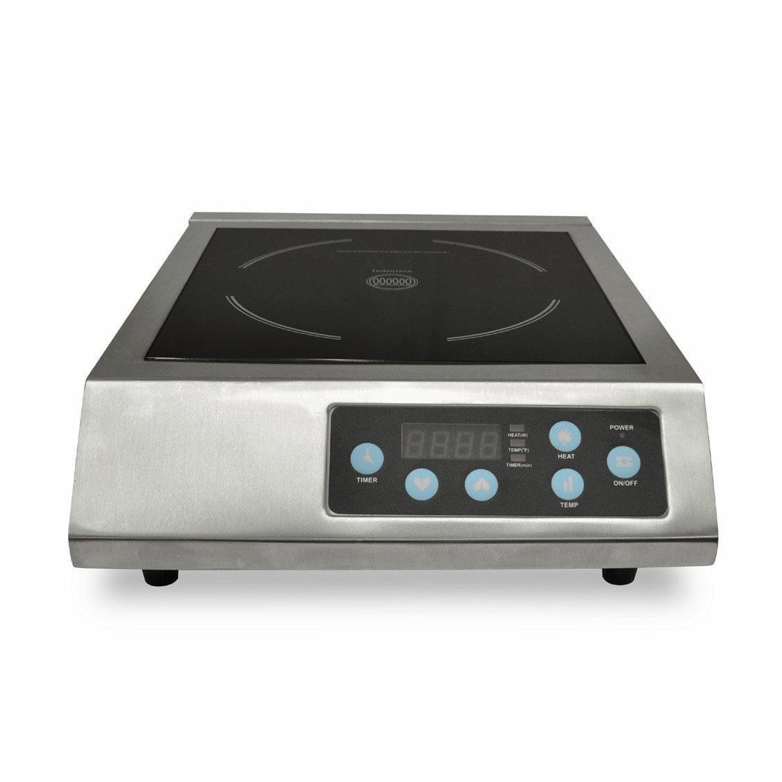 Nella Stainless Steel Countertop Induction Cooker With LED Light   24221