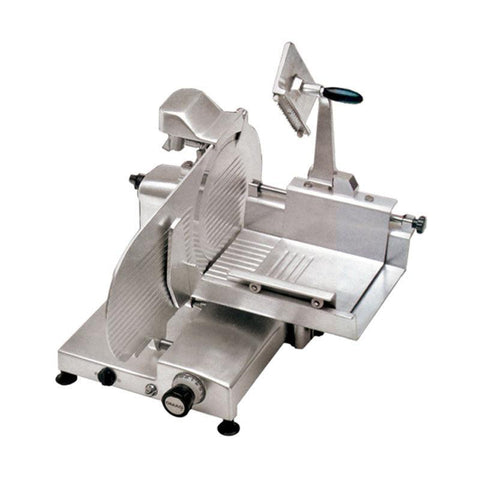 "NELLA 14"" BLADE HORIZONTAL GEAR-DRIVEN SLICER .35HP - 350PM - 13657 - Nella Cutlery Toronto"