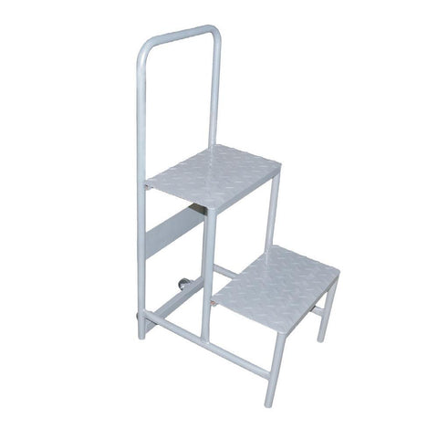 NELLA 31368 STAINLESS STEEL AND HEAVY DUTY STEP LADDER