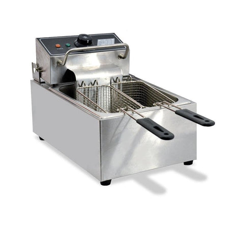 NELLA 34867 110V SINGLE TABLE ELECTRIC COUNTER TOP DEEP FRYER