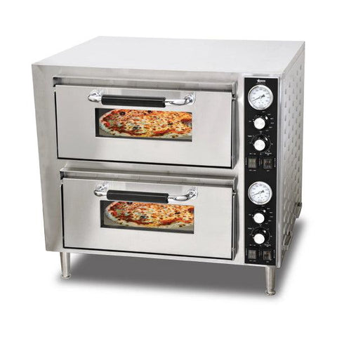 Nella Double Chamber Countertop Pizza Oven - 39580