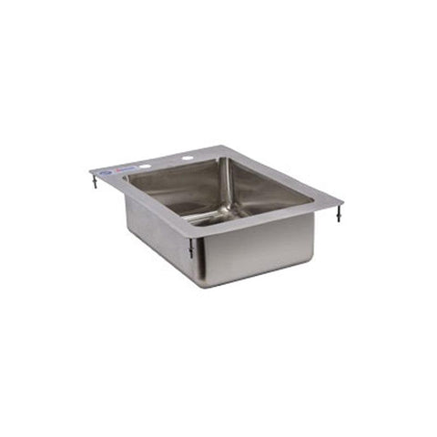 NELLA ONE TUB FLAT TOP DROP IN SINK - 39779