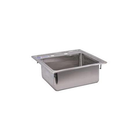 NELLA ONE TUB SELF-RIMMED EDGE TOP DROP IN SINK - 39784