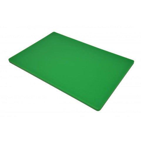 "Nella 12"" x 18"" x 0.5"" Rigid Cutting Board - Green - 41198"