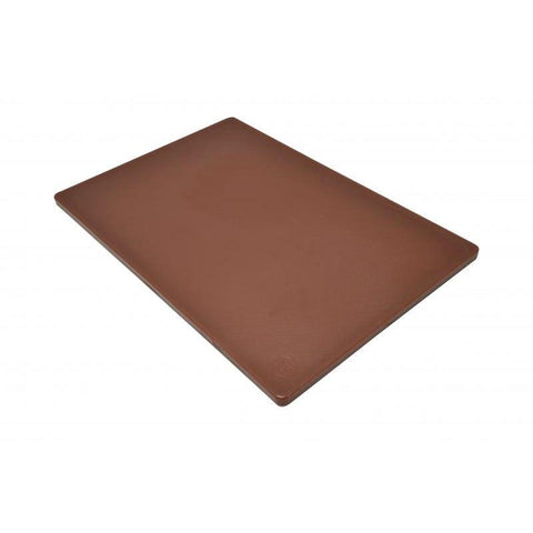 "Nella 12"" x 18"" x 0.5"" Rigid Cutting Board - Brown - 41199"