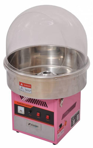 "Nella Cotton Candy Machine With 20 1/2"" Bowl - 41336"