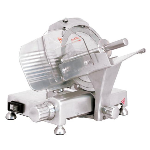 "Nella 9"" Belt Driven Meat Slicer - 41710"
