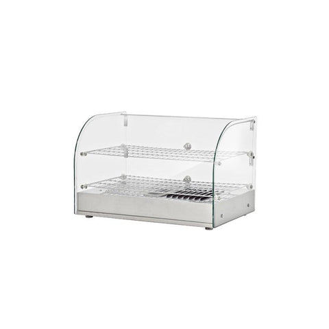 "NELLA 15"" COUNTERTOP DISPLAY WARMER WITH FRONT CURVED GLASS - 41870"