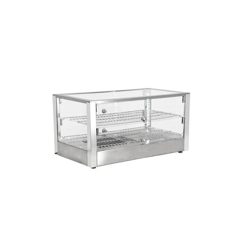 "NELLA 16"" COUNTERTOP DISPLAY WARMER WITH FRONT AND REAR DOOR - 41872 - Nella Cutlery Toronto"