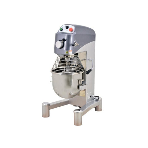 NELLA 43560 20 QT. HEAVY DUTY MIXER WITH TIMER AND GUARD