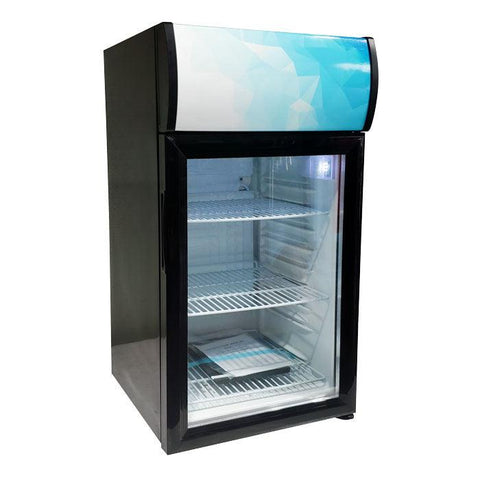 "Nella 17"" Countertop Display Refrigerator with 52 L Capacity - 44529"