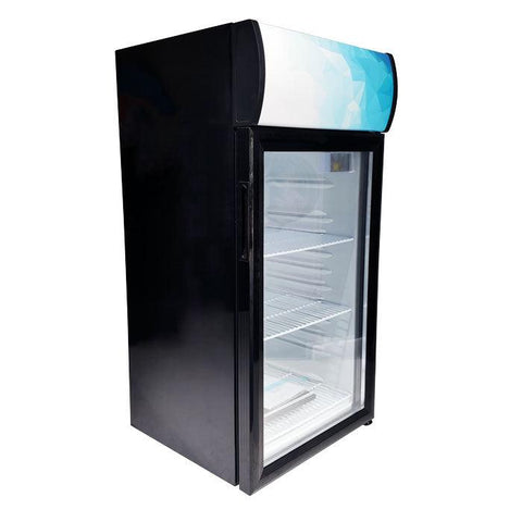 "Nella 18"" Countertop Display Refrigerator with 80 L Capacity - 44530"