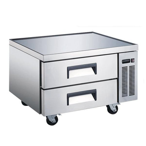 "Nella 36"" 2-Drawer Refrigerated Chef Base - 50070"