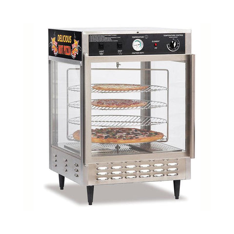 GOLD MEDAL Humidified Pizza Warmer and Merchandiser - 5550PZ - Nella Online Toronto