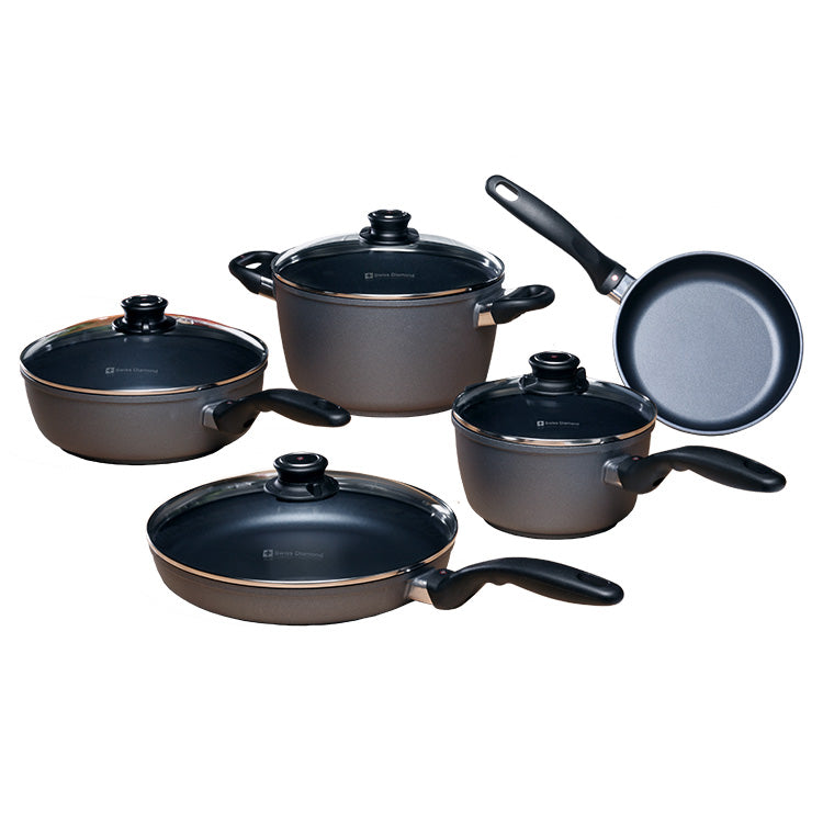 Swiss Diamond 609 9 Piece Kitchen Essentials Set Nella Online