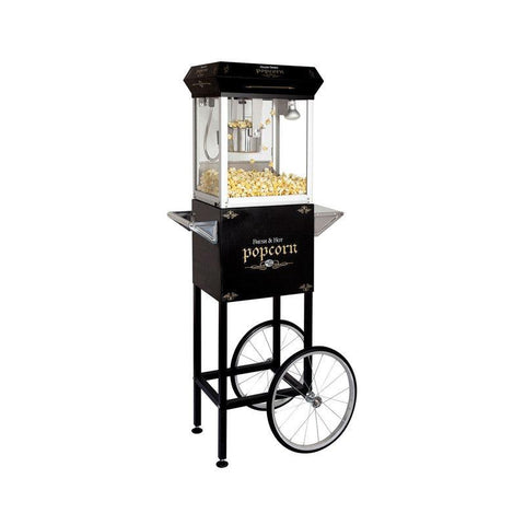 Distribution Maro Black Popcorn Machine - 71110 - Nella Cutlery Toronto