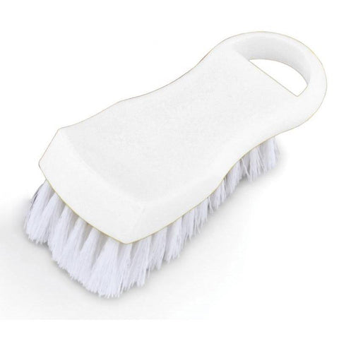 Nella White Plastic Cutting Board Brush - 80501