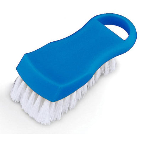 Nella Blue Plastic Cutting Board Brush - 80502