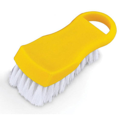 Nella Yellow Plastic Cutting Board Brush - 80505