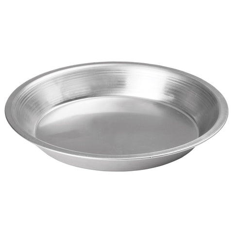 "Winco APPL-8 8"" Aluminum Pie Pan"
