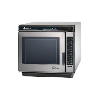 Amana RC22S2 2200W Stainless Steel Microwave Oven with LED Touch Control - 240V/60Hz