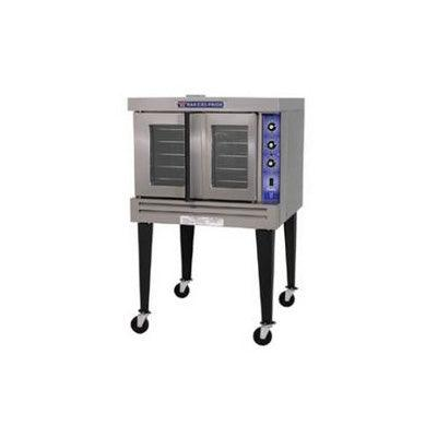 "Bakers Pride Cyclone Series GDCO-G1-SI 43"" Full Size Gas Convection Oven with Analog Control"