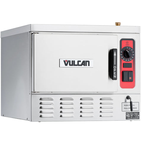VULCAN C24EA3-1 3 PAN ELECTRIC COUNTERTOP CONVECTION STEAMER - 208V, 8.5 KW