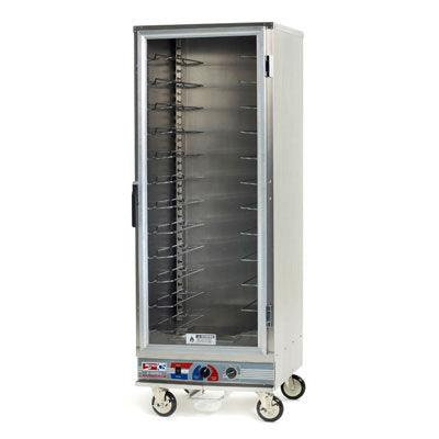 Metro C5E9-CFC-U Full-Size Heated Holding and Proofing Mobile Non-Insulated Cabinet - 120V/60Hz